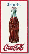 Coca Cola Coke 1915 Bottle  Advertising Vintage Retro Style Metal Tin Sign New