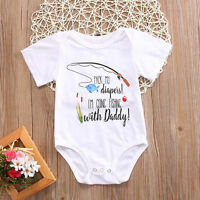 Newborn Baby Kid Girls Boys Romper Tops Jumpsuit Bodysuit Infant Clothes Outfits