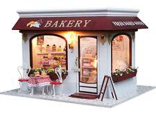 !New~Dollhouse miniature DIY kit- #13825, Provence Bakery House