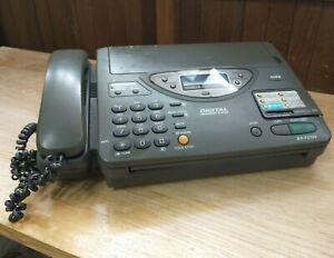 Panasonic Telephone Answering Fax Machine KX-F2700E-G   (Untested)
