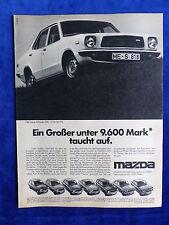 Mazda 818 - Werbeanzeige Reklame Advertisement 1976 __ (118