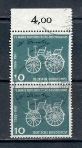 BRD 1961  Mich Nr.363  Paar  Ortsstempel  Oberrand  Vollstempel  wie gescant