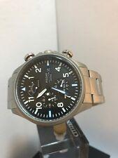 Reloj de cuarzo Pulsar Hombre, correa de acero inoxidable con Cronógrafo y pantalla PS6049X1