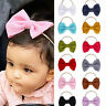 Big Bow Headband Stretch Hairband Toddler Girls Baby Knotted Turban Head Wraps