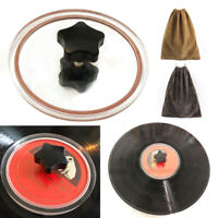 LP Vinyl Record Cleaning Label Saver Protector Turntable Disc Waterproof Clamp