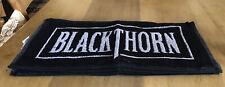 5 VINTAGE DRY BLACKTHORN CIDER BLACK & WHITE BAR TOWELS