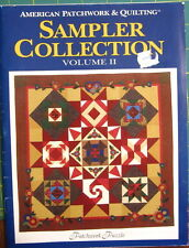 """Sampler Collection Volume II"" Quilt Pattern Book. Patchwork Puzzle, 6 Projects"