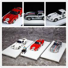 JEC 1:64 Ferrari 250 GTO Resin with Figure Red #30 Silver #25 White #10