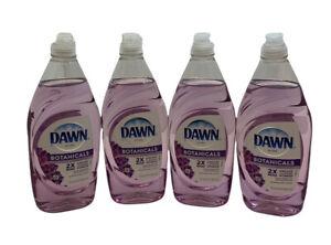 New Dawn Ultra Botanicals Lavender Dishwashing Liquid Soap 19.4 fl oz (Lot of 4)