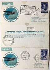 Australia souvenir cover 1958 common issue with Nz for Southern Cross flight