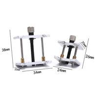 2pcs Watch Case Metal Movement Holder Watchmaker Clamp Repair Tool .;J Dz