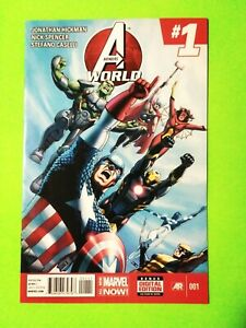 AVENGERS WORLD #1 VF+8.5 SPIDER-WOMAN, BLACK WIDOW, 2014, COMBINED SHIPPING