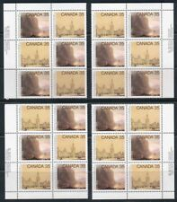 Canada Mint Stamps - #851-852 Academy of Arts, Scarce Matched Plate Blocks of 6