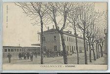 CARTOLINA GALLARATE STAZIONE 829/A