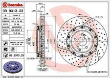 Disc Brake Rotor-Premium OE Equivalent Rotor Front Brembo 09.9313.33