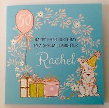 PERSONALISED BIRTHDAY CARD MUM NAN Daughter 18th 21st 30th 50th 60th 70th 80th
