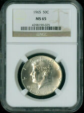 1965 KENNEDY HALF NGC MS65 DEAL