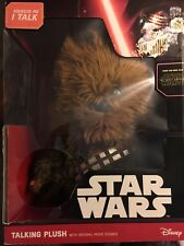 Chewbacca Star Wars Collectible Deluxe Talking Plush Toy SW02557