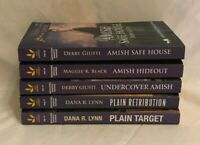 Love Inspired Suspense / Amish Witness Protection + /  2017-2019  Lot of 5