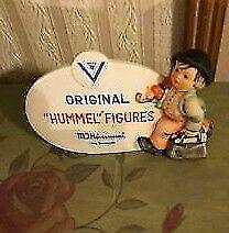 Mint Hummel Dealers' Plaque TMK 5 Boy With Umbrella