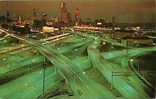 I-75 Expressway Interchange Cincinnati Ohio OH Postcard