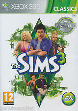 The Sims 3 Xbox 360 Brand New Factory Sealed Free shipping in USA