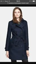 Stunning Burberry Bramington  Trench coat UK 8 Sold Out Everywhere !