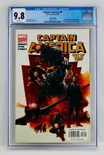 Captain America #6 CGC 9.8 Variant First Winter Soldier Appearance 1st App NM/MT