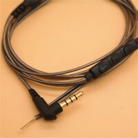 3.5mm DIY Earphone Audio Cable Repair Replacement Headset with Mic Microphone