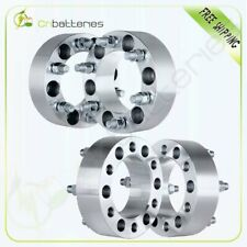 """4Pcs 2"""" 6x5.5 14x1.5 108mm Wheel Spacers For 2002-2005 Chevrolet Astro"""