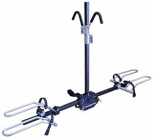 "Swagman XTC2 Hitch Bike Rack 1-1/4"" and 2"" Receiver - 2 Bicycle Carrier - Fol..."