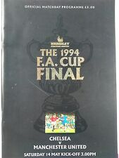 1994 FA Cup Final Chelsea v Manchester United very good condition
