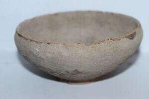 ANCIENT ROMAN GREY WARE POTTERY DISH 1/2nd century AD Holy-Land