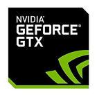 1 pcs NVIDIA GEFORCE GTX Sticker 17.5mm x 17.5mm Label Logo Decal Case Badge