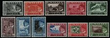 Malaya - Johore 1960 - Mi-Nr. 143-153 ** - MNH - Freimarken / Definitives (I)