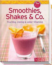 Smoothies Rezepte Buch Smoothies Shakes Minikochbuch Rezeptbuch Rezepheft NEU