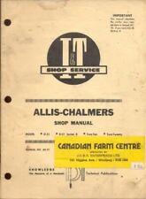 1971 Allis Chalmers D 21 Two Ten Tractor Iampt Shop Service Repair Manual Ac