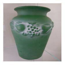 Poterie vase céramique faïence barbotine WHAT'S VINCENT CADEAUX art nouveau N98