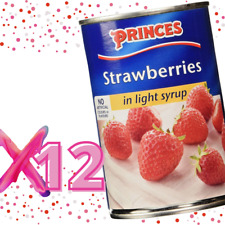 Princes Strawberries in Light Syrup - 12x410g