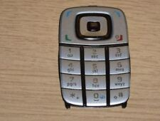 Genuine Original Nokia 6101  Keypad Silver & Black
