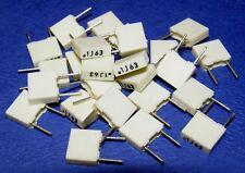 100nf 63v 5% 5mm Condensatore MKT serie r82... LOTTO DI 25