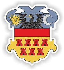 Transylvania Coat of Arms Sticker Crest Romania Carpathian Dracula Vampires