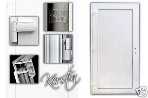Haustür Hauseingangstür Kunststoff Modell Kerstin weiß ProduktDE001