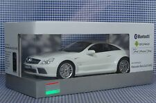 Mercedes-Benz SL65 AMG White Car App-Controlled w Apple iPhone iPod iPad Android