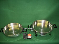 Kitchen Nutrition Oil Core Waterless Electric Skillet MADE IN USA BY AMERICRAFT
