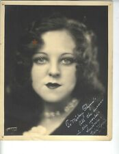 "Original 1926 Signed Burlesque Photo Babe Morris ""Queen of Jazz"" in Chicago Vi"