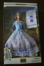 Beatrix Potter Peter Rabbit 100 Year Celebration Barbie Doll in Blue Dress