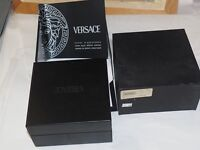ORIGINAL Genuine VERSACE Atelier Special Inner & Outer WATCH BOX & Papers