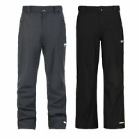Trespass Hemic Mens Water Resistant Softshell Trousers Black Breathable Hiking