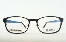 EVATIK hochwertige Markenfassung Herrenbrille leichte Brille Farbe schwarz Gr. M